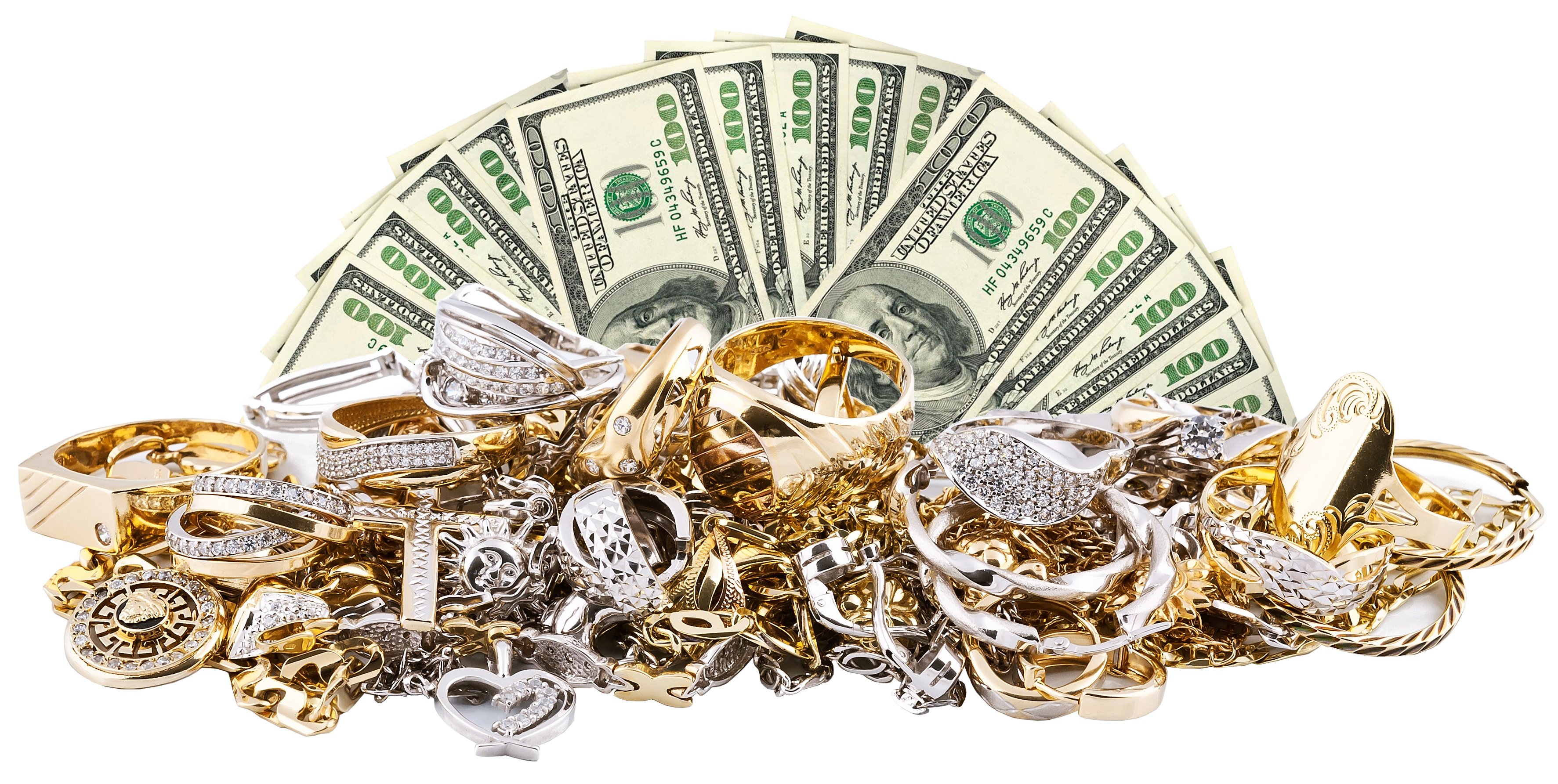 gold jewelry, silver jewelry, cash for gold